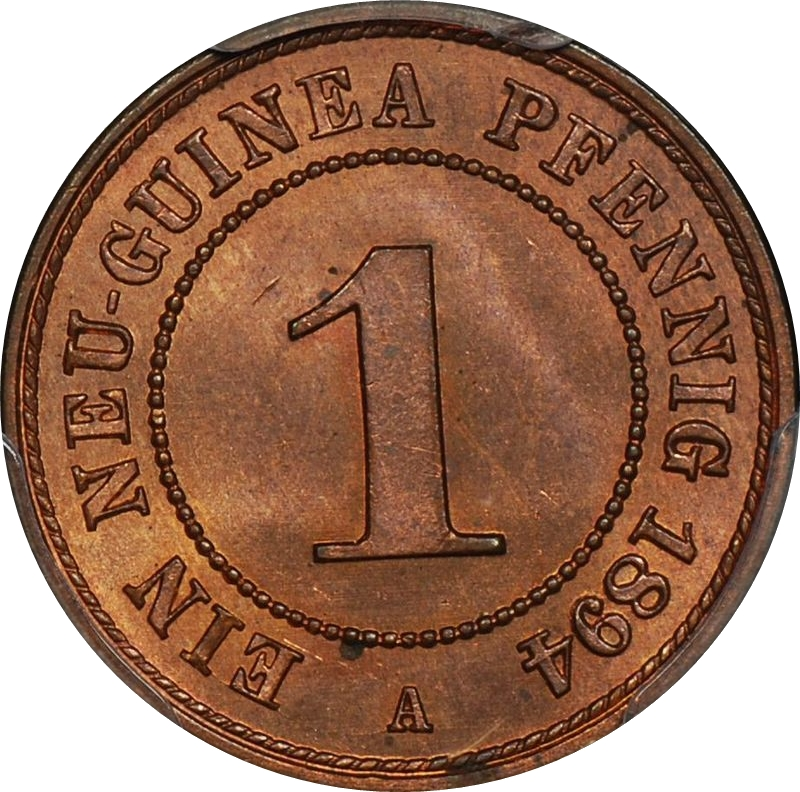 1894GermanNewGuinea1Pfennig