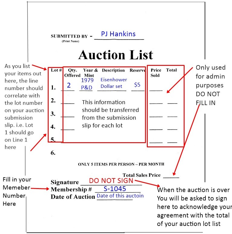AuctionListExample